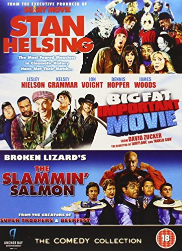 Bild von Comedy Collection - Stan Helsing / Big Fat Important Movie / Slammin Salmon [DVD]