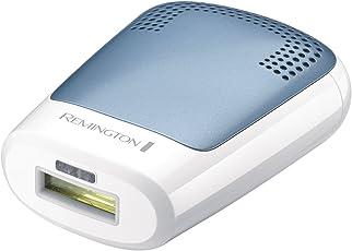 Remington IPL3500 Haarentfernungssystem Compact Control, dauerhafte Haarentfernung mit HPL(Home Pulse Light)-Technologie, weiß/grau
