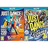 Just Dance 2017 + Just Dance: Disney Party 2 (Wii U)