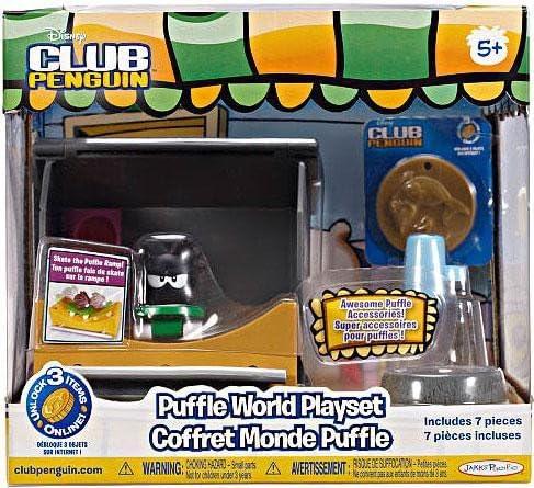 Disney – Club Noir Penguin – Puffle Noir Club Fait du Skate – Coffret Monde Puffle B0046VYWQC 91caa3