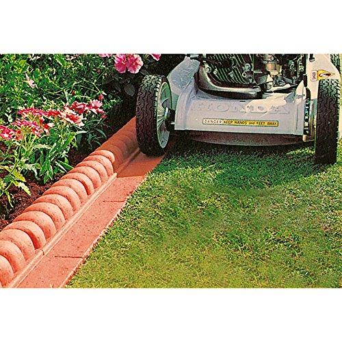 baumarkt direkt rechte Kurve für Kunststoff-Rasenkante Terracotta