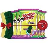 Scotch-Brite Scrub Sponge - Pack of 6