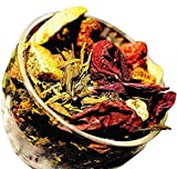 Berry Berry Green Tea - Berry Tea - Chinese Tea - Green Tea - Caffeinated - Tea - Loose Tea - Loose Leaf Tea - 2oz