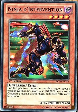 carte YU-GI-OH LCJW-FR282 Ninja D'intervention NEUF FR