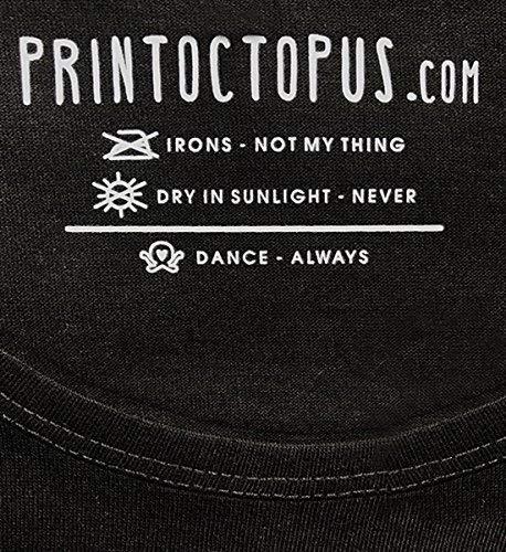 PrintOctopus Graphic Printed T-Shirt for Men & Women | Vitamin Sea T-Shirt | Funny Quote T-Shirt | Half Sleeve T-Shirt | Round Neck T Shirt | 100% Cotton T-Shirt | Short Sleeve T Shirt Black