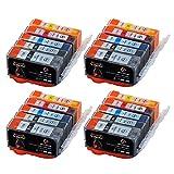 20x Druckerpatronen für Canon PGI-525 CLI-526 Multipack zu Pixma iP4850 iP4950 iX6550 MG5150 MG5250 MG5350