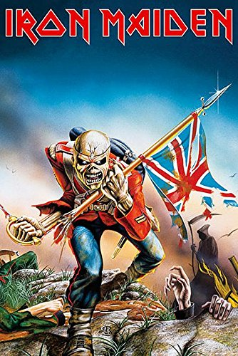 Iron Maiden Trooper Maxi Poster 61x91.5 cm