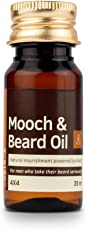 Ustraa Mooch and Beard Oil 4x4 for men - 35 ml