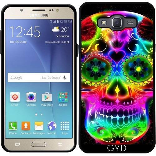 Custodia Silicone per Samsung Galaxy J7 2016 (SM-J710) - Skull20151213 by JAMFoto