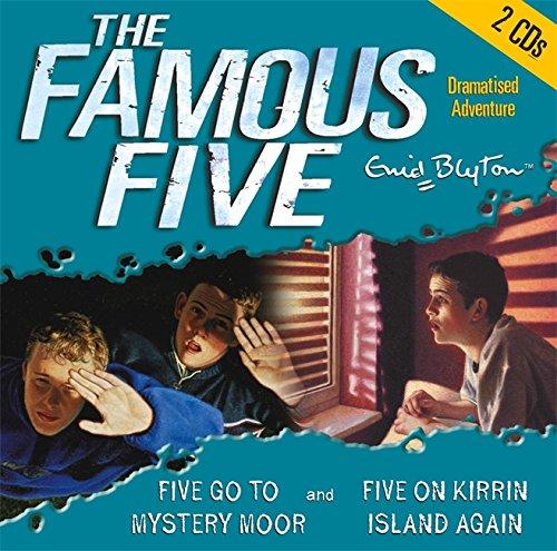 Five Go to Mystery Moor & Five On Kirrin Island Again (Famous Five)