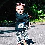 Baby Kleidung CLOOM Junge Mädchen Outfits Set Hoodie langarm jacke Retro Blatt Drucken Kapuzenpullover tops + Weich Baumwolle Hosen Mode Anzug Set (70, Rosa) Test