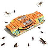 THERESA 10Pack Cockroach Roach Killer Insect Glue Non Toxic Greener Boards Trap for Bugs Indoor Home