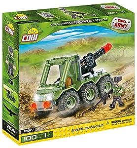 Cobi - G21 6x2 Missile Launcher, vehículo, Color Verde (2196)