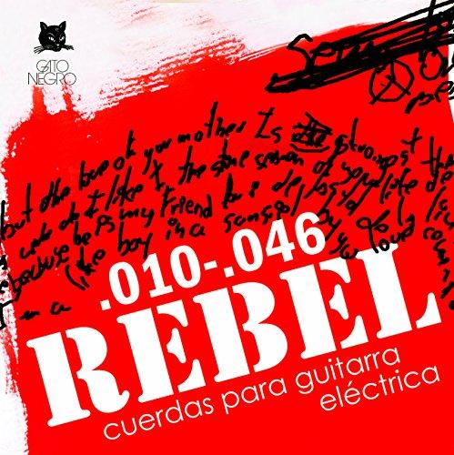 Juego de cuerdas para guitarra eléctrica Rebel by Gato Negro