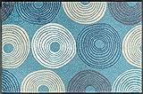 Wash&Dry 079781 Cyclone Fußmatte, Acryl, 50 x 75 x 0,7 cm, Bunt