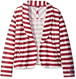 NCAA Damen Fleece Blazer, damen, Crimson/Cream
