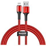 Baseus Halo Data Cable, 1 Meter - Red