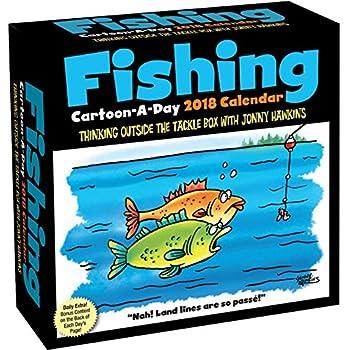Fishing Cartoon-a-Day 2018 Calendar