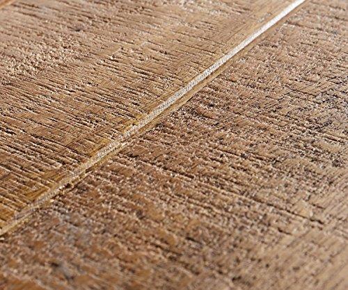 Fernsehtisch Braddock Mango Natur 200 cm Metall Lowboard 2 Türen - 3