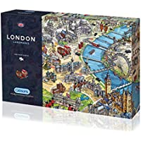 Gibsons London Landmarks Jigsaw Puzzle, 1000 piece