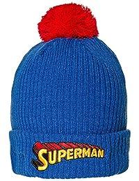 DC Comics Superman Bommelmütze (Blau/Rot)
