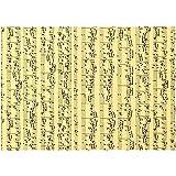Paper concept carton musique, a4 21x30 cm, notes de musique, 10 feuille...