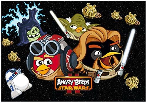 Preisvergleich Produktbild Podklad szkolny na biurko obustronny Angry Birds Star Wars II