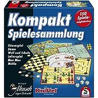 Schmidt-Spiele-49188-Kompakt-Spielesammlung Schmidt Spiele 49188 Kompakt Spielesammlung -