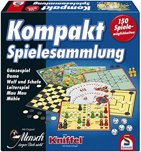 Schmidt Spiele 49188 Kompakt Spielesammlung