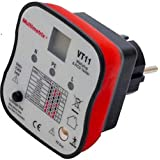 Multimerix Arnoux mmxp06230304 testapparaat voor stopcontact, aarding, 2-polig met stroomschakelaar