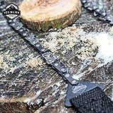 Iceberk Hand Kettensäge – Hochwertige Handsäge aus rostfreiem Carbonstahl zum Sägen von Ästen und kleinen Bäumen (120 cm) -