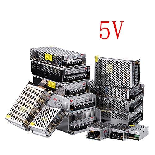 E Support Universal 5V 20A Schaltnetzteil Treiber für LED Streifen Trafo Transformator Adapter (Led-treiber 5v)