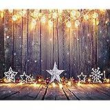 Kate Seamless Microfiber Fotografie Hintergrund Weihnachten Holz Hintergründe für Xmas Party