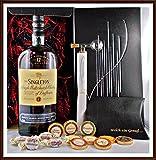 Geschenk The Singleton of Dufftown 12 Jahre Whisky + Flaschenportionierer + 10 Edel Schokoladen Confiserie DreiMeister & DaJa + 4 Whisky Fudge kostenloser Versand