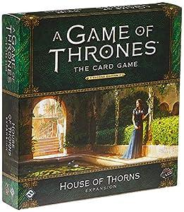 Fantasy Flight Games FFGGT29 House of Thorns Deluxe - Expansión de Juego de Mesa AGOT LCG 2nd Ed, Multicolor