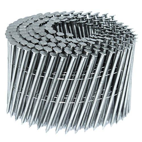 BECK FASTENER GROUP 15° Draht Coilnägel 2,8x70mm Ring-Schaft rostfrei A2
