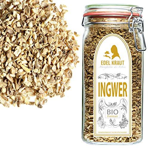 EDEL KRAUT | BIO INGWER GESCHNITTEN im Premium GLAS – Ginger Organic 600g