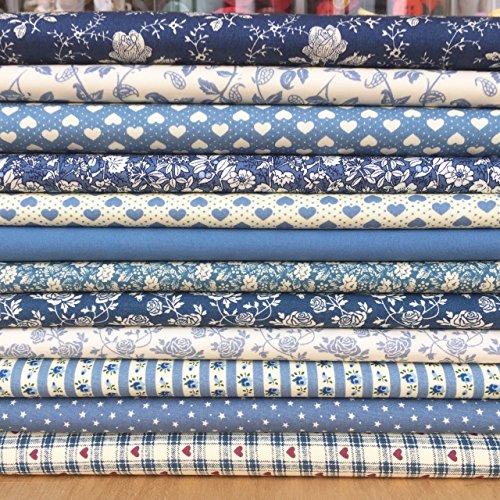 always-knitting-sewing-12-piece-victorian-blue-100-cotton-fabric-bundle-25cm-x-25cm-fq-bundle-metre