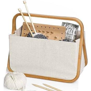 "Prym Store /& Travel Bag /""Canvas /& Bamboo/"" 612562 Art"