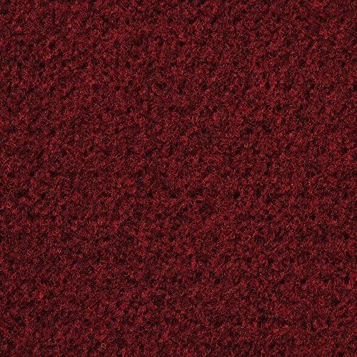 Kunstrasen Rasenteppich mit Noppen   Höhe ca. 7,5mm   133, 200 und 400 cm Breite   rot   Meterware, verschiedene Größen   Größe: 3 x 4 m