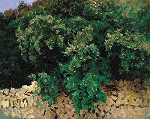 Das Museum Outlet-John Singer Sargent-carrascal. Mallorca, gespannte Leinwand Galerie verpackt. 29,7x 41,9cm