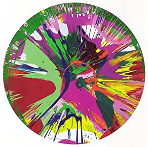 Hirst Damien Titulo :  Superbe Motif Hairy Vag Reproduction peinture, photo 29 x 42 Papier brillant edition 30