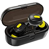 WeCool Moonwalk Mini in Ear Earbuds with Magnetic Charging Case IPX5 Wireless Earphones with Digital Battery Indicator for Cr