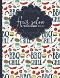 Best Barbecue Books - Hair Salon Appointment Book: 4 Columns Appointment Diary Review