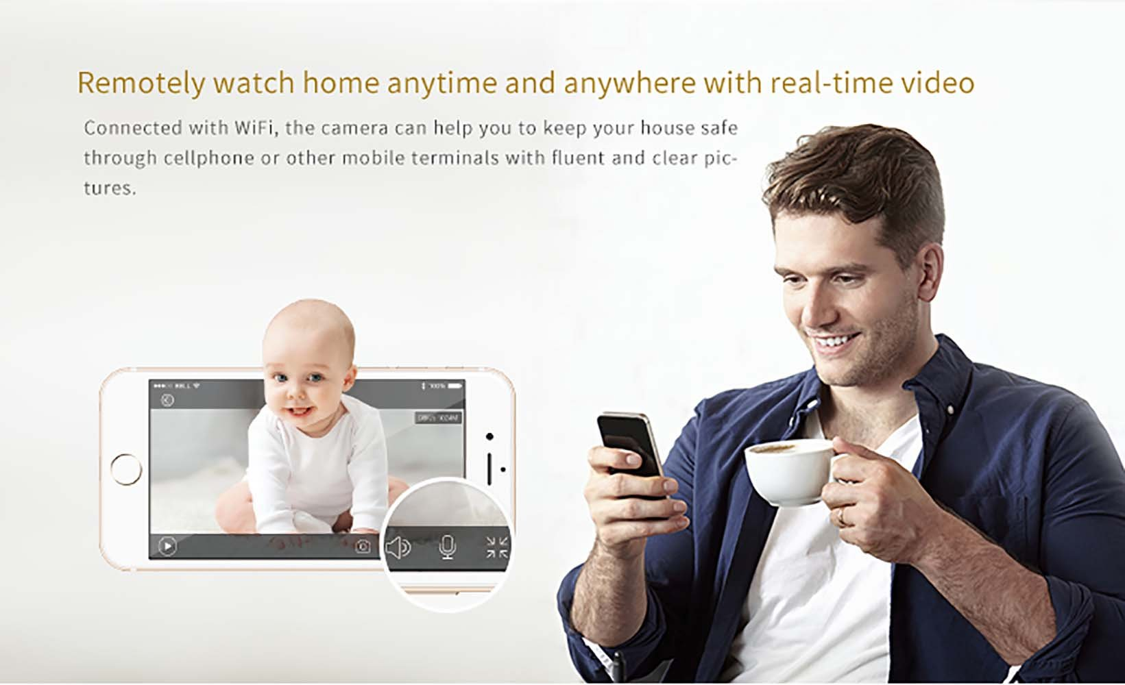 Clever dog Wireless security wifi cameras Smart Surveillance camera(Grey) Clerver dog Wireless Baby Monitor: Video, audio, alerts on smart phone and tablets, it will help you stay connected with what you love, no matter where you are via WiFi, 3G or 4G network IP camera,use your own 5V wall charger(Not included), No battery inside Support Micro SD card, up to 32GB (not included), Best motion detection distant is 4 meter to 6 meter 3