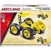 Mecano - joven - 6026699, juego de construcción, la razón: cargadores frontales, 65 PC.