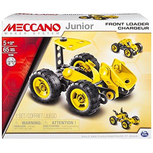 Meccano-6026699-Jeu-de-Construction-Chargeur-3-Modles-Meccano-Junior