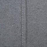 Deconovo Tischdecke Tischwäsche Lotuseffekt Tischtuch 130x280 cm Grau - 7