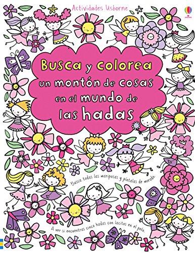 Busca Y Colorea Un Montón De Cosas En El Mundo De Las Hadas