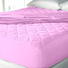 """Rajasthan Crafts Water Resistant & Dustproof Mattress Protector King Size - 78""""X72""""-For King Size Mattress"""
